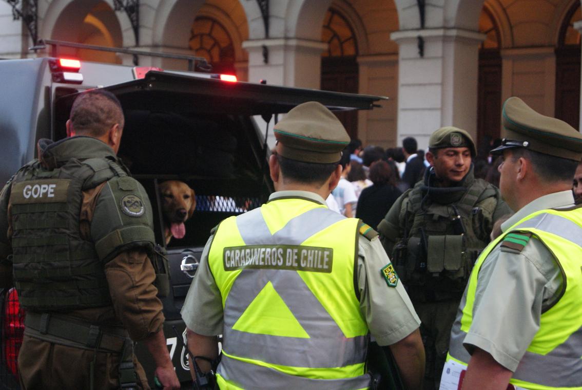 Chile_Polizeiwillkür