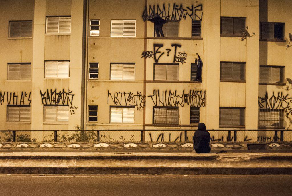 Pixação in Brasilien: Sprachrohr der Jugendlichlichen (Fotos: Fabio Viera)