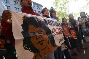 Berta Cáceres presente: Demonstration gegen Straflosigkeit (Foto: Daniel Cima)