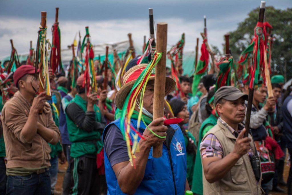 Nicht nur ein Agrarstreik - Auch ein Streik für Frieden (Foto: Camilo Ara)