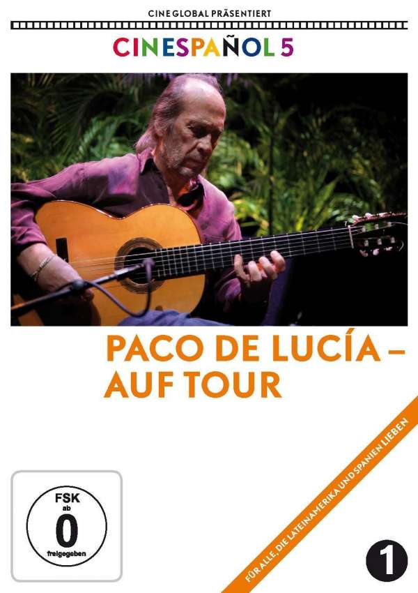 Paco de Lucía auf Tour